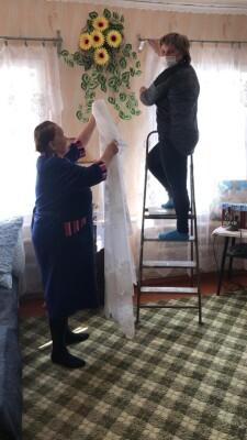 Стращенко Л.В. уборка в доме